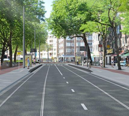 Werkzaamheden tramsporen Kralingen-Crooswijk