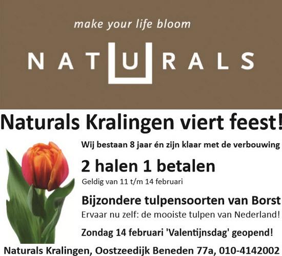 Naturals aanbieding