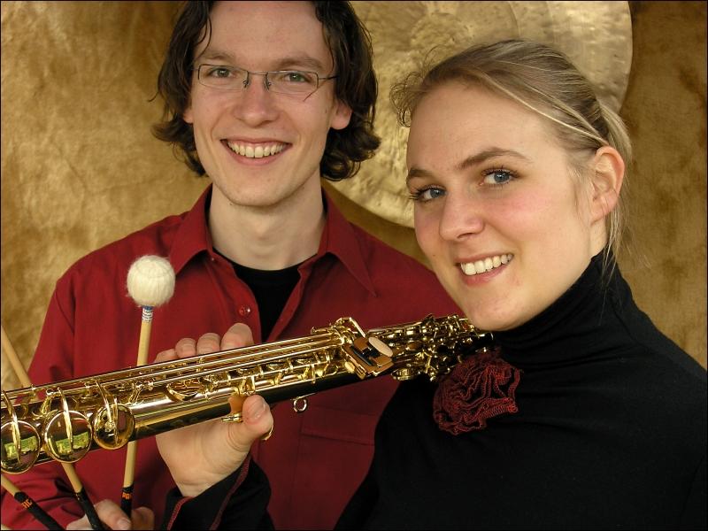Duo Sax & Stix combinatie van saxofoon en marimba