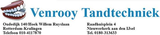 Venrooy Tandtechniek logo