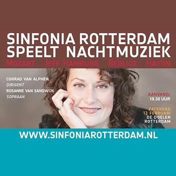 Sinfonia Rotterdam speelt Nachtmuziek