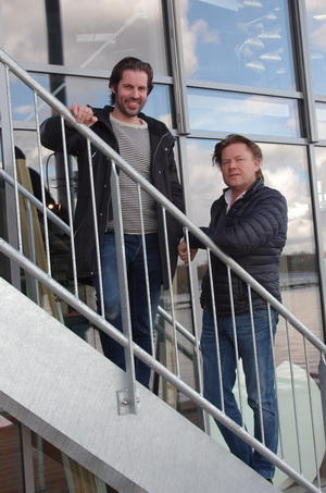 Wouter Lentz en Hendrik van der Wyck