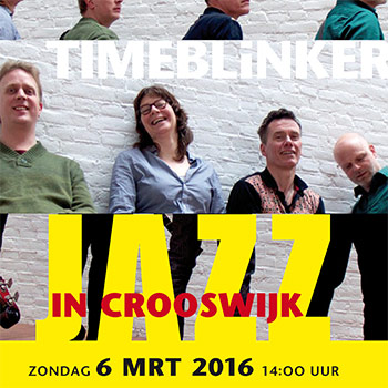 TIMEBLiNKER bij Jazz in Crooswijk