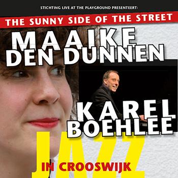 Uniek dubbelconcert bij Jazz in Crooswijk
