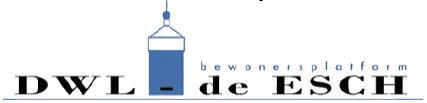 Bewonersplatform DWL-De Esch logo