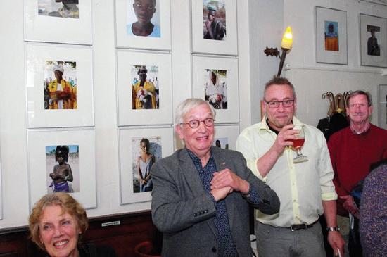 De Kralingse kunstenaar Jan Mattheus de Grauw werd onlangs 77 jaar