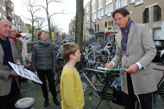 'Ideeën voor de kop Voorschoterlaan'