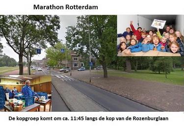 Marathon Rotterdam: Eten en drinken voor de voedselbank