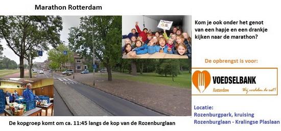 Marathon Rotterdam Eten en drinken voor de voedselbank