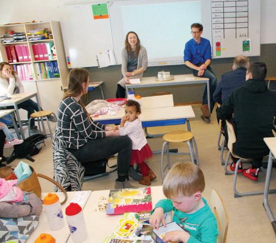 Presentatie 'Croostwijk' in Talmaschool
