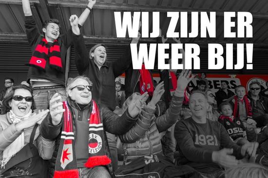 Excelsior is er weer bij in de Eredivisie! Jij toch ook?