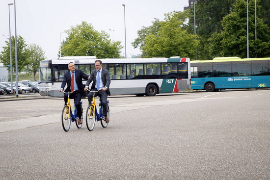 Ruime verdubbeling OV-fiets locaties in Rotterdam