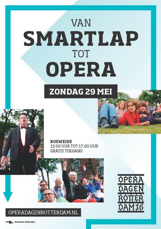 Van Smartlap Tot Opera flyer