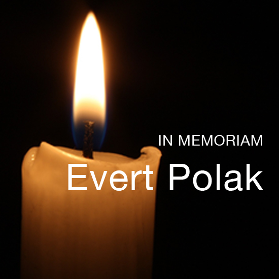 In Memoriam Evert Polak