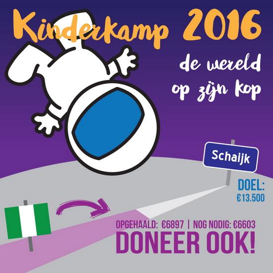 Een mooie week voor kinderkamp Kralingen Crooswijk