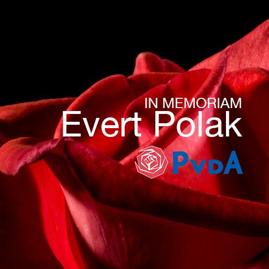 De crematieplechtigheid Evert Polak