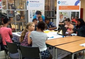 Cosmicus College op Techniek 2-Daagse RMD-Campus Rotterdam