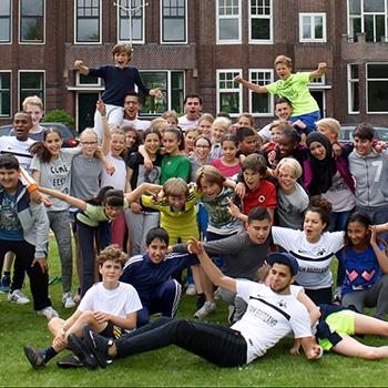 Scholen in Kralingen werken samen aan een betere maatschappij