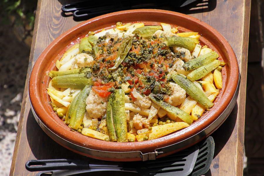 Besaha! (Marokkaans voor eet smakelijk)