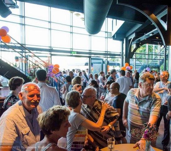 Benefiet BBQ Boathouse brengt € 11.500 op