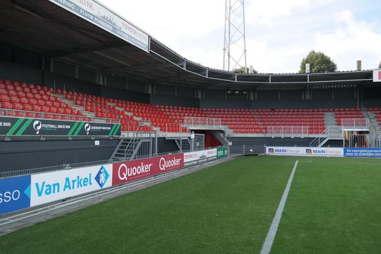 Spectaculaire opening van het vernieuwde Stadion Woudestein