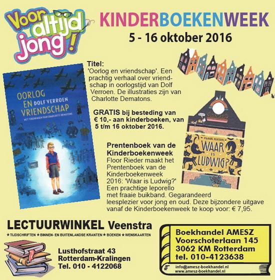 Kinderboekenweek in Kralingen