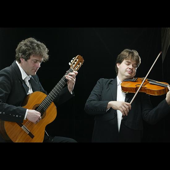 Concert van het duo Macondo in Pro Rege
