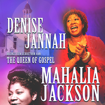 Eerbetoon aan Mahalia Jackson, the Queen of Gospel