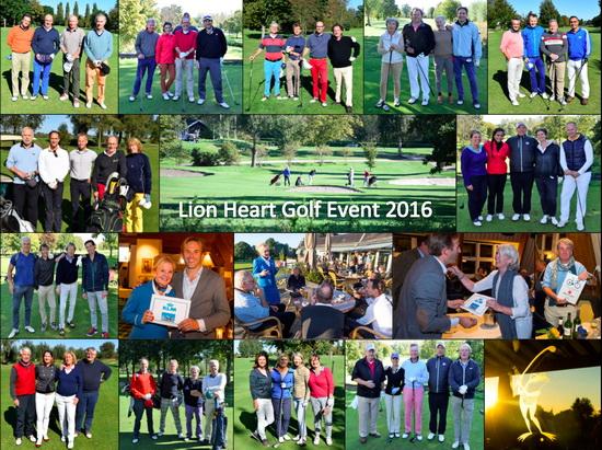 Geweldig resultaat Lion Heart Golf Event: € 29.000!