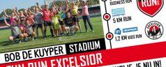 Ren vrijdag mee langs en door Stadion Woudestein tijdens de FunRun!