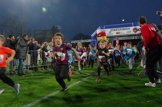 De Bob de Kuyper Stadium FunRun dwars door Kralingen