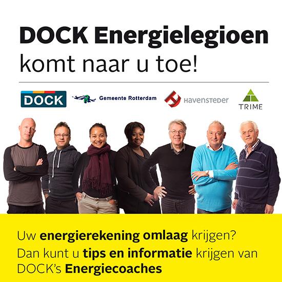 Uw energierekening verlagen? DOCK Energiecoach vragen!