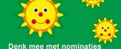 Denk mee met nominaties voor 'ZONNETJES' en 'DE BOEZEMVRIEND'