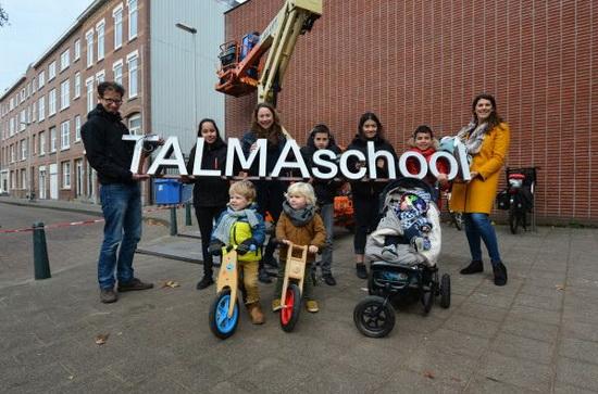 Talmaschool verandert met Crooswijk mee