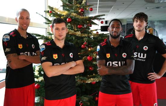 Excelsior eindigt eerste seizoenshelft met 2-2 tegen NEC