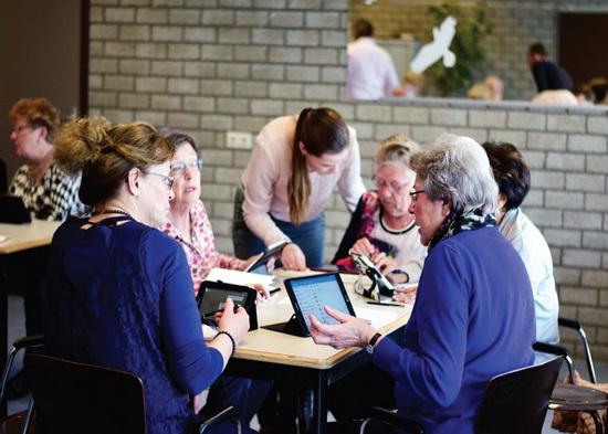Tablet en smartphone lessen in Pniël