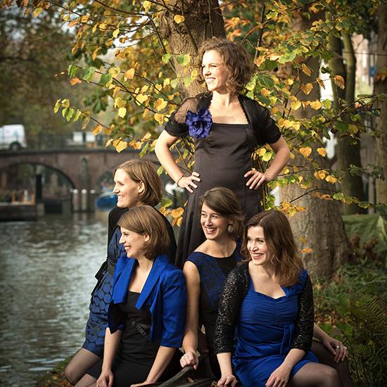 Combattimento en Wishful Singing met kerstklassiekers in Rotterdam