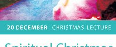 20 december christmas lecture – Spiritual Christmas