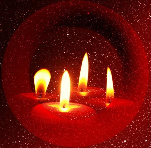 Kerstlichtjes-avond op Begraafplaats st-Laurentius