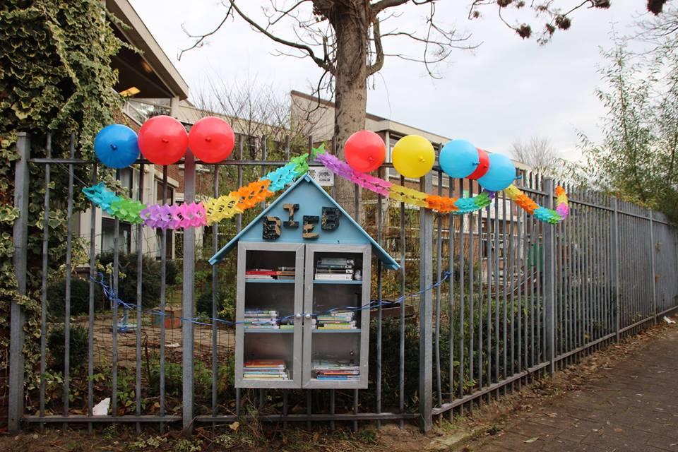 Feestelijke opening Minibieb Crooswijk