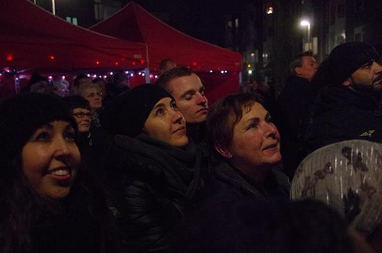 Nieuwjaarsreceptie Bewonersgroep Slachthuisterrein met lichtjesfeest en vuurwerkshow