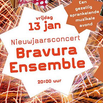 Goed nieuws voor vrijdag de 13e! Nieuwjaarsconcert in Pro Rege