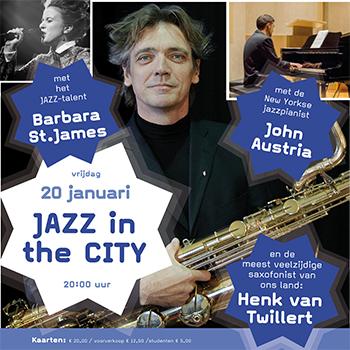 Jazz in the City! bij Pro Rege