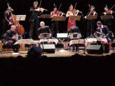 Tango-music in Paleiszaal op 19 maart