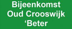 Uitnodiging bijeenkomst Oud Crooswijk 'Beter Crooswijk'