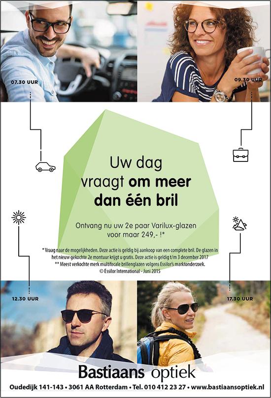 Bastiaans Optiek – Uw dag vraagt om meer dan één bril