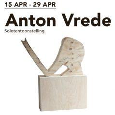 Solotentoonstelling Anton Vrede bij Bob Smit gallery