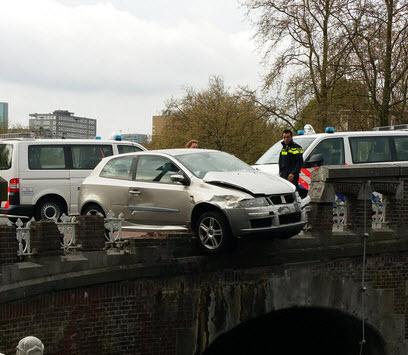 Automobilist ramt Noorderbrug