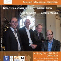 Vier bekende organisten presenteren unieke CD-box