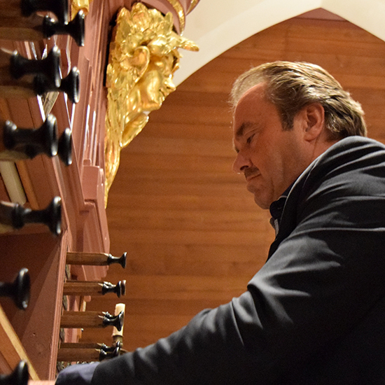 Martin Mans 40 jaar organist